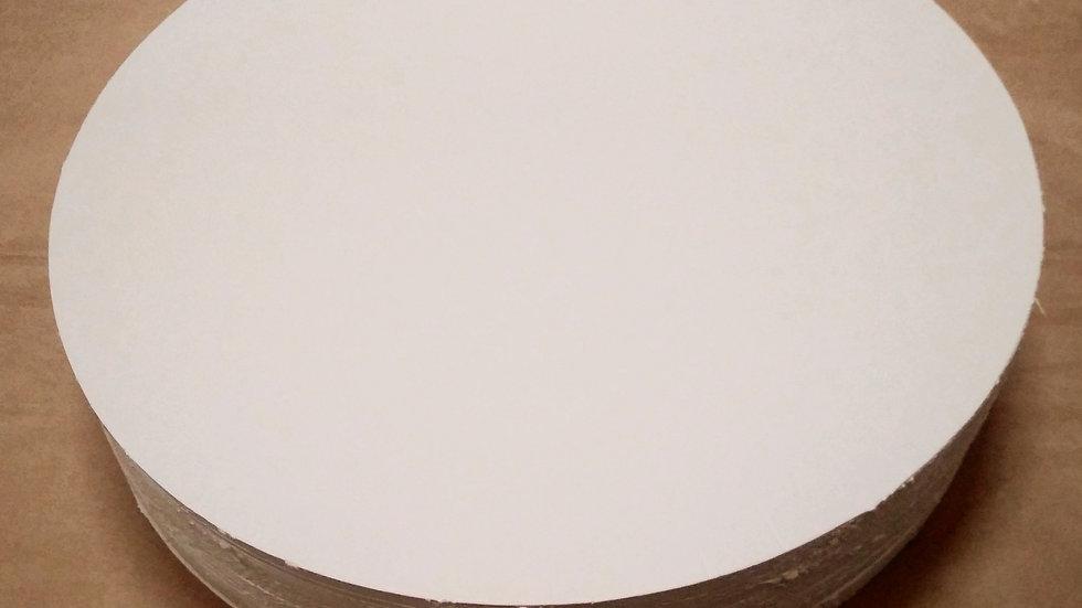 Podkładki pod tort okrągłe białe