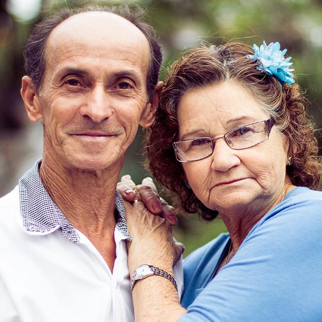 Lourdes e Sebastião