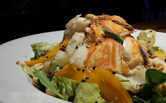 Lobster Salad, Roatan Oasis