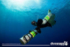 Learn sidemount diving during your divemaster internship