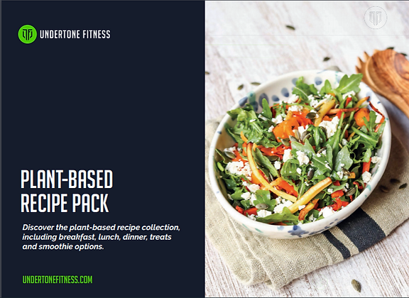 UnderTone Fitness Plant-Based Recipes