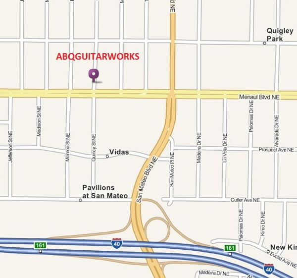 ABQGuitarworks- Albuquerque guitar repair and tube amplifier repairs