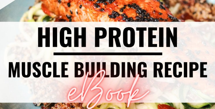 High Protein Muscle Building Recipe eBook