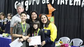 Concurso Canguru de Matemática 2019.