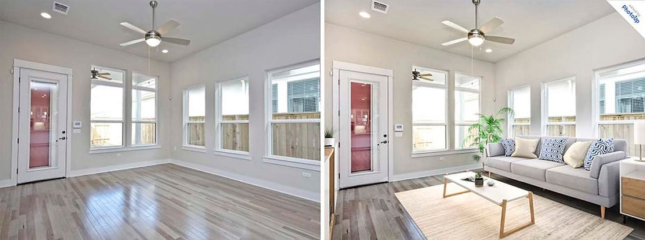real estate photography before and after 2
