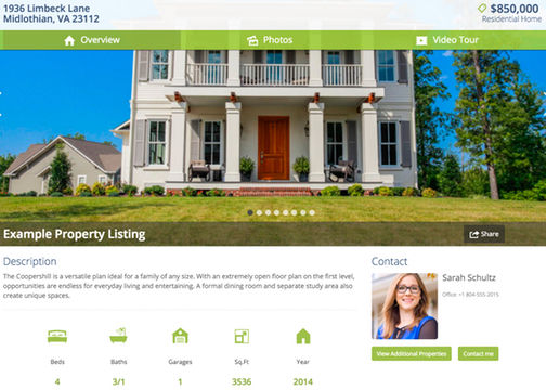 Richmond Real Estate website
