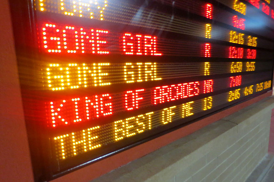 The King of Arcades Marquee