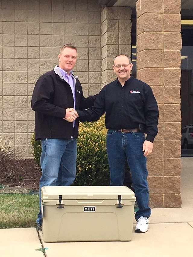 Announcing the winner of the GEAPS Exchange giveaway!! Jeff Bartholomew with Beachner Grain is the lucky winner of the YETI cooler.
