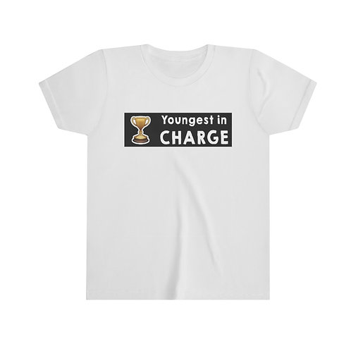 Youngest in Charge Unisex Youth Tee