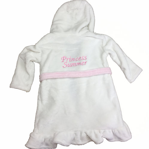 Girls Princess Dressing gown 12-18 months