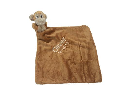 Personalised BoBo Comforter - Monkey