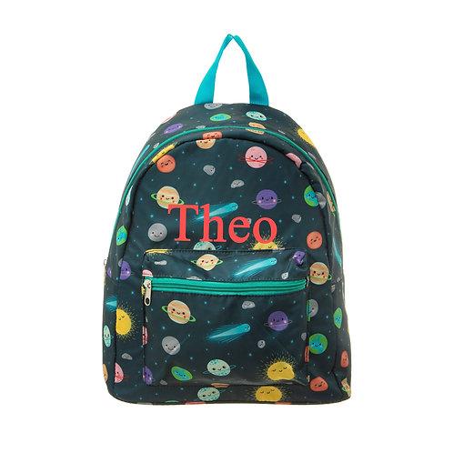 Personalised Space Explorer Backpack