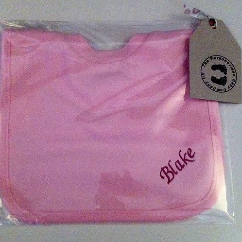 Plain Bib - Pink
