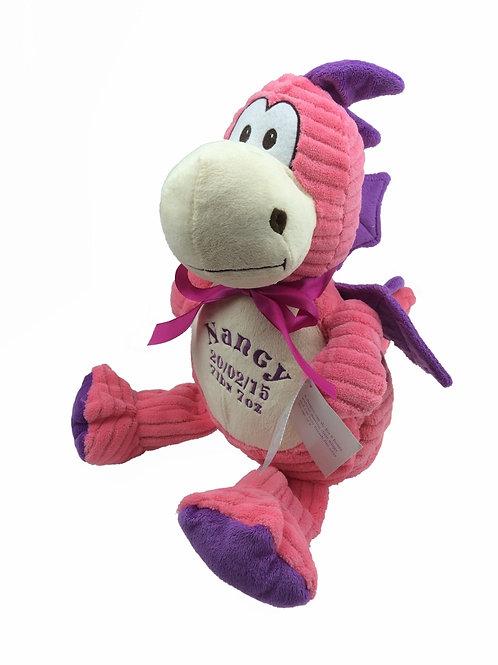 Personalised Pink Dragon