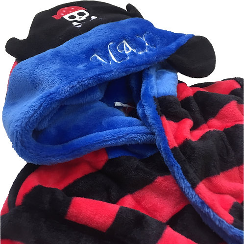 Pirate Dressing gown - Age 4-5