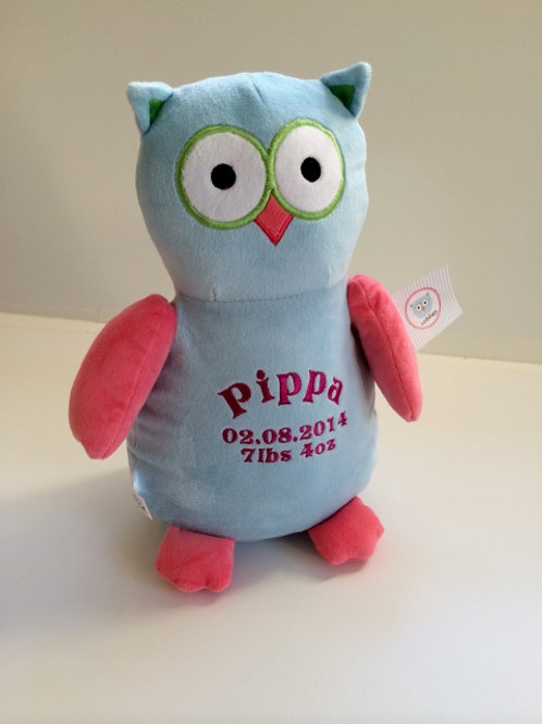 Personalised Owl Soft Toy