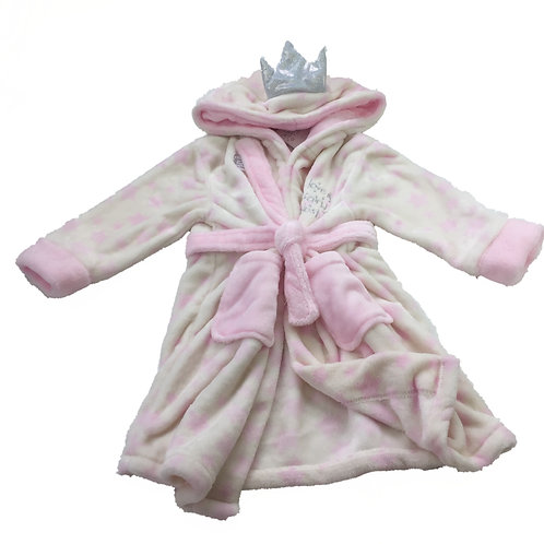 Girls White 'Fairy' Dressing gown 3-4 Years