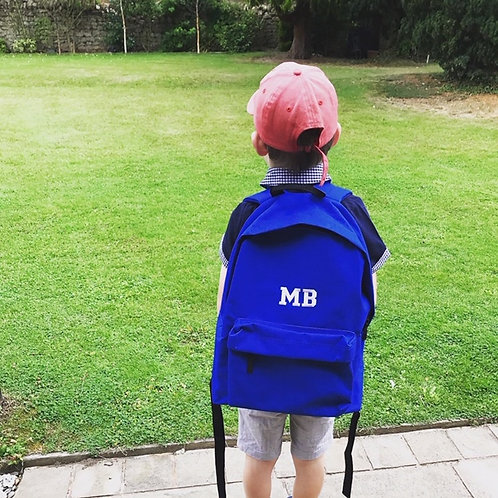 Personalised Backpack Monogram