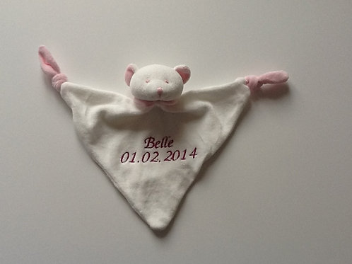 Personalised Teddy Comforter