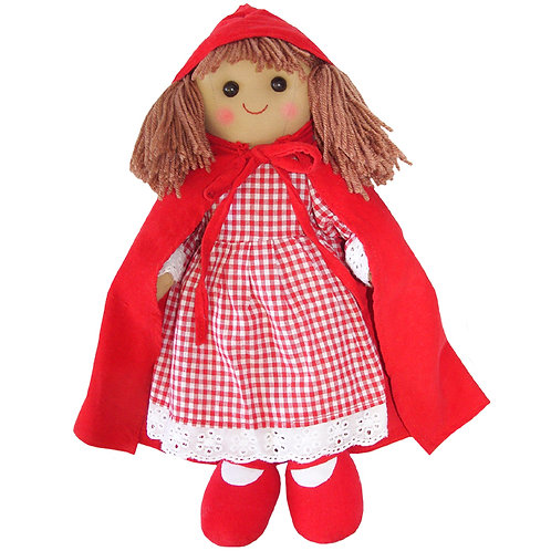 Personalised Powell Craft Little Red Riding Hood Rag Doll 40cm