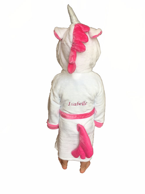 Girls 'Unicorn' Dressing gown 2-3 Years