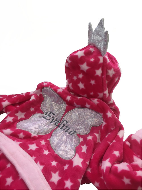 Girls Pink 'Fairy' Dressing gown 3-4 Years