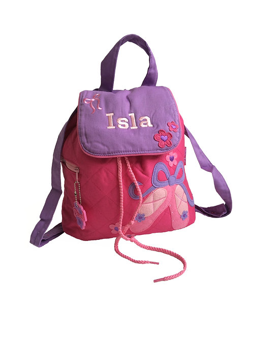 Personalised Ballerina Backpack / Ruck Sack