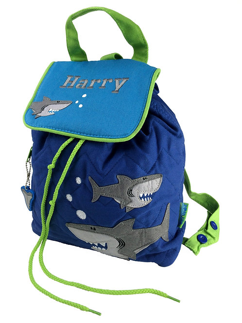 Personalised Shark Backpack / Ruck Sack.