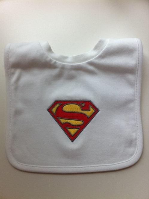 Superman Bib
