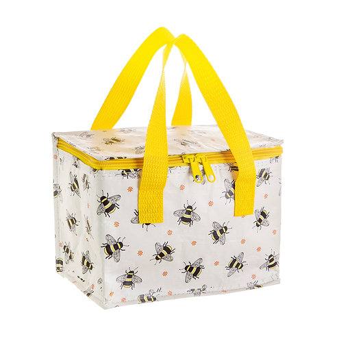 Personalised Busy Bees Insulated Lunch Bag