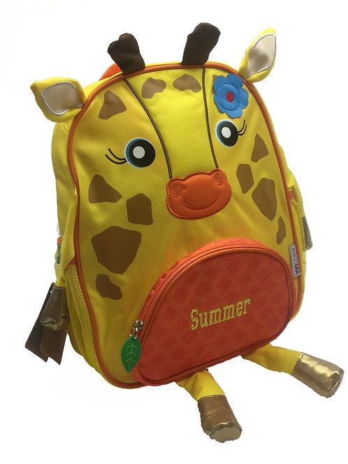 Personalised 'Giraffe' Backpack / Ruck Sack.