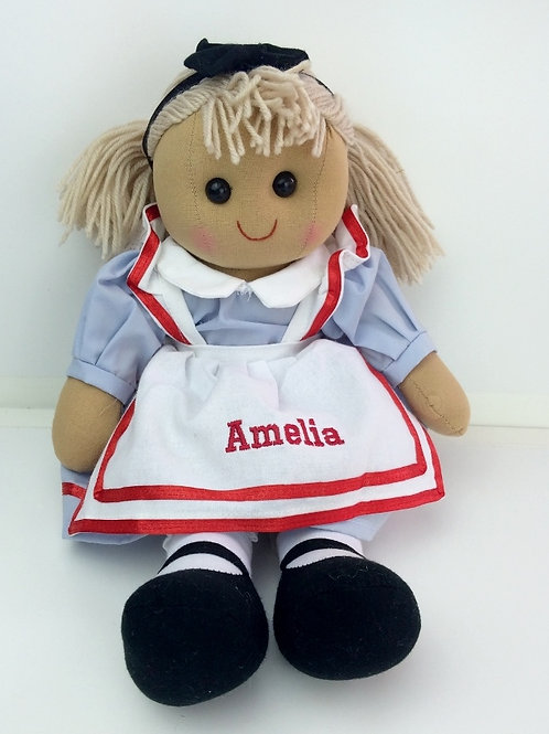 Beautiful Personalised Rag Doll - 'Alice'