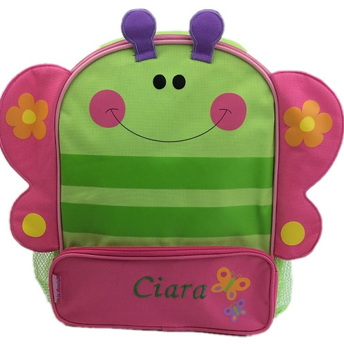 Personalised 'Butterfly' Backpack / Ruck Sack.
