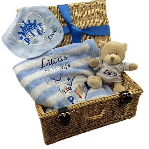 Personalised Luxury Little Prince' Gift Hamper