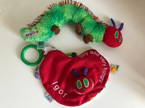 Personalised The Very Hungry Caterpillar Comforter Comfort Blanket