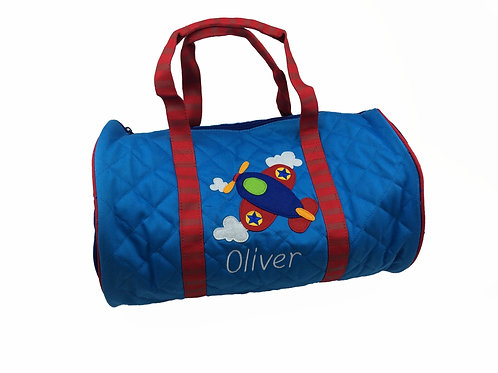Sample Sale Personalised Airplane Duffle Bag Oliver