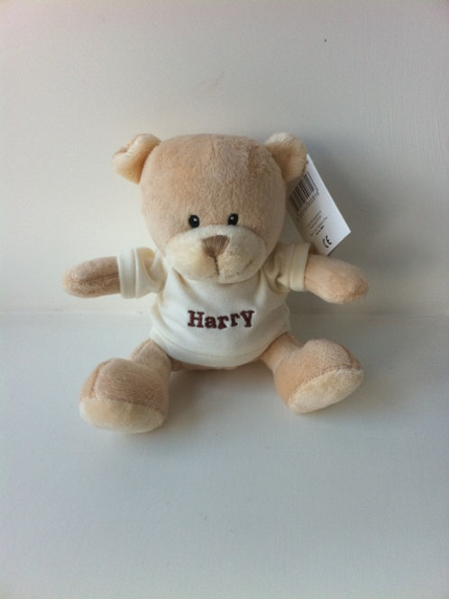 Personalised Teddy in Cream