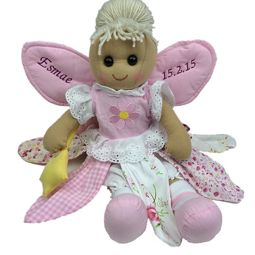 Beautiful Personalised Rag Doll - Fairy