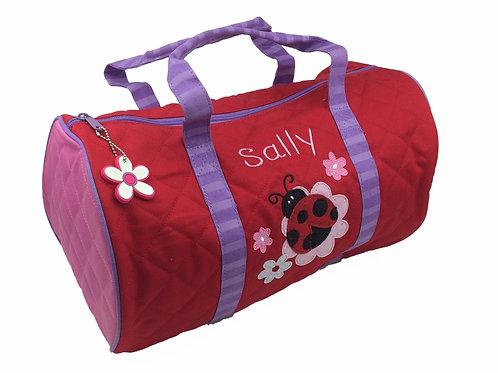 Personalised Ladybird Duffle Bag