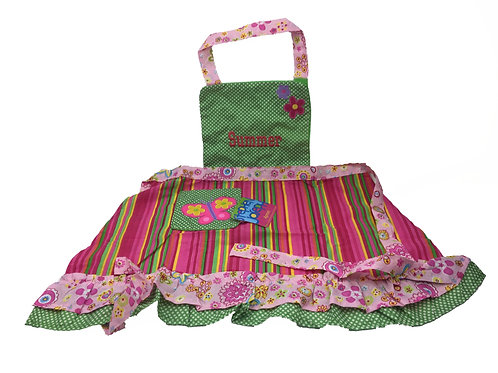 Personalised 'Butterfly' Children's /Toddler Apron