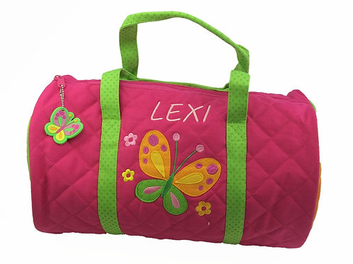 Personalised 'Butterfly' Duffle Bag