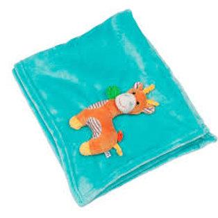 Personalised Zoocchini Giraffe Baby Blanket
