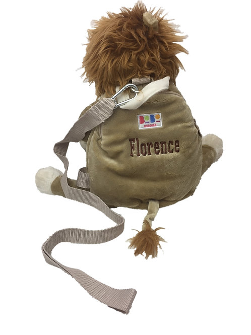 Personalised BoBo Reined Backpack - Lion