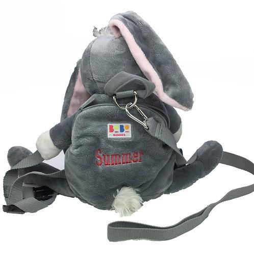 Personalised BoBo Reined Backpack - Bunny