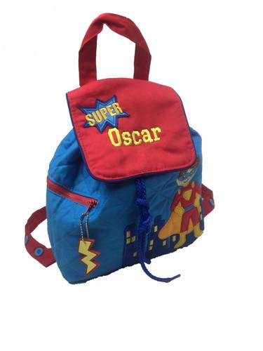 Personalised Superheo Backpack Ruck Sack