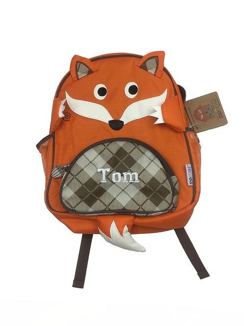 Personalised 'Fox' Backpack / Ruck Sack.Sample Sale Tom