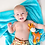 Thumbnail: Personalised Zoocchini Giraffe Baby Blanket