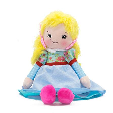 Personalised Blonde Hair Reg Doll - Joanna