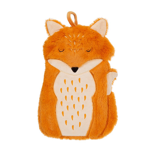 Personalised Finley Fox Hot Water Bottle