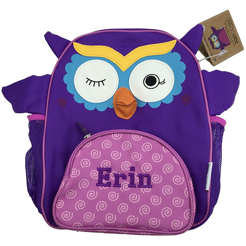 Personalised 'Owl' Backpack / Ruck Sack.